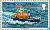 Briefmarken - Guernsey - Rescue 1824-1974