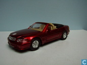 Model cars - Welly - Mercedes-Benz 500 SL 'cabriolet'