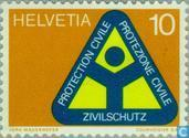 Postage Stamps - Switzerland [CHE] - Civil Defence