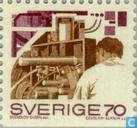 Postage Stamps - Sweden [SWE] - Transport and industry