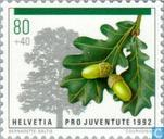 Timbres-poste - Suisse [CHE] - Arbres