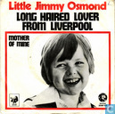 Platen en CD's - Osmond, Little Jimmy - Long haired lover from Liverpool