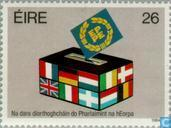 Postage Stamps - Ireland - European Parliament Elections