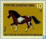 Postage Stamps - Berlin - Horses