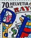 Postzegels - Zwitserland [CHE] - Postzegeltentoonstelling NABA 2000