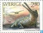 Postage Stamps - Sweden [SWE] - Prehistoric animals