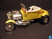 Model cars - Johnny Lightning - Ford Roadster 'Coca Cola'