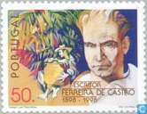 Timbres-poste - Portugal [PRT] - José Maria Ferreira de Castro 100 ans