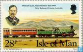 Postage Stamps - Man - William Cain