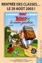 Strips - Asterix - École Panoramix - Carnet de correspondance