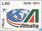Postage Stamps - Italy [ITA] - Alitalia 25 years
