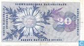 Billets de banque - Schweizerische Nationalbank - Suisse 20 Francs 1970