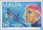 Postzegels - Malta - Int. Jaar van de Oceaan