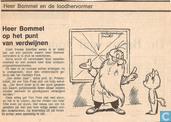 Comics - Bommel und Tom Pfiffig - Heer Bommel op het punt van verdwijnen