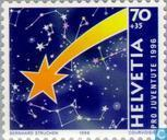 Postage Stamps - Switzerland [CHE] - Comet