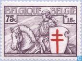 Postzegels - België [BEL] - Ridder