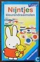Jeux de société - Lotto (plaatjes) - Nijntjes Kleurendraaimolen