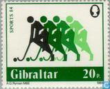 Postzegels - Gibraltar - Sport