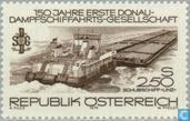 Donau-scheepvaartmaatschappij 150 jaar