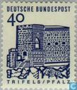 Postzegels - Duitsland, Bondsrepubliek [DEU] - Gebouwen