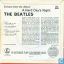 Vinyl records and CDs - Beatles, The - (Extracts from the Album) A Hard Day's Night