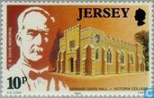 Postage Stamps - Jersey - Davis, Benjamin Thomas