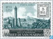 Postzegels - San Marino - Postzegeljubileum Bologne