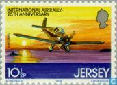 Postage Stamps - Jersey - Air Race 25 years