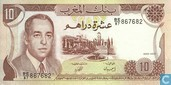 Banknotes - Morocco - 1970-1985 Issue - Morocco 10 Dirhams 1985
