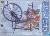 Postage Stamps - Åland Islands [ALA] - Folk Art-Furniture Decoration