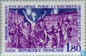 Postage Stamps - France [FRA] - Electric street lighting