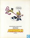 Bandes dessinées - Ambrosius - Professor Ambrosius en het spook van de Murdocks