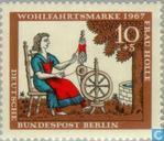 Postzegels - Berlijn - Sprookjes Gebr. Grimm