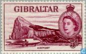 Timbres-poste - Gibraltar - Affichage