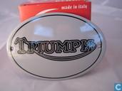 Enamel signs - Logo : Triumph - Emaille Bord : Triumph