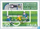 Postage Stamps - Italy [ITA] - Football 75 years