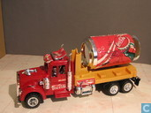 Model cars - Unknown - Truck Coca-Cola blik