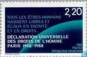 Postage Stamps - France [FRA] - Human Rights