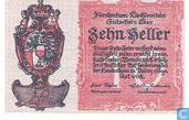 Billets de banque - Noodgeld Liechtenstein - Heller Liechtenstein 10