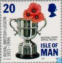 Timbres-poste - Man - British Legion 1921-1996