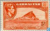 Postage Stamps - Gibraltar - George VI, Landscapes
