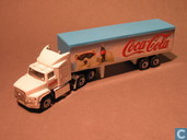 Model cars - Matchbox - Ford aeromax  Coca-Cola ijsbeer
