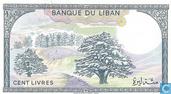 Bankbiljetten - Libanon - 1964-1988 Issue - Libanon 100 Livres 1988