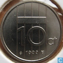 Coins - the Netherlands - Netherlands 10 cents 1999
