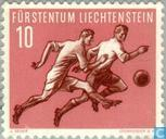 Postage Stamps - Liechtenstein - Football World Cup