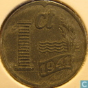Coins - the Netherlands - Netherlands 1941 1 cent (zinc)
