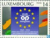 Timbres-poste - Luxembourg - EUROFFICE 25 années