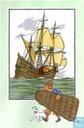 """Comic Books - Kuifjesbon producten - Chromo's """"Zeevaart I"""" 44"""