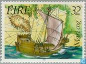 Timbres-poste - Irlande - Histoire maritime