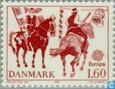 Postage Stamps - Denmark - Europe – Folklore